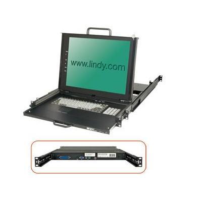 Lindy 21612 Rack console - Zwart