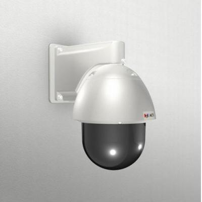 ACTi Gang Box Converter with PTZ Wall Mount for Outdoor PTZ/Speed Dome Beveiligingscamera bevestiging & behuizing