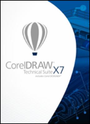 Corel desktop publishing: CorelDRAW Technical Suite X7 (download versie)