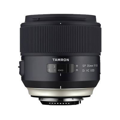 Tamron camera lens: SP 35mm F/1.8 Di VC USD - Zwart