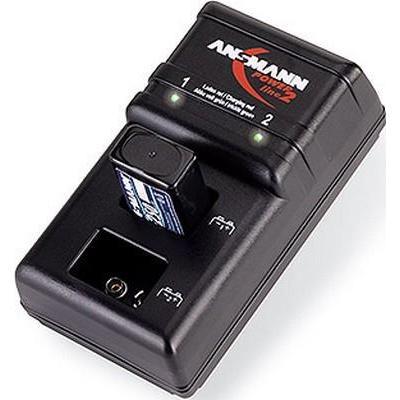 Ansmann oplader: Powerline 2 - Zwart