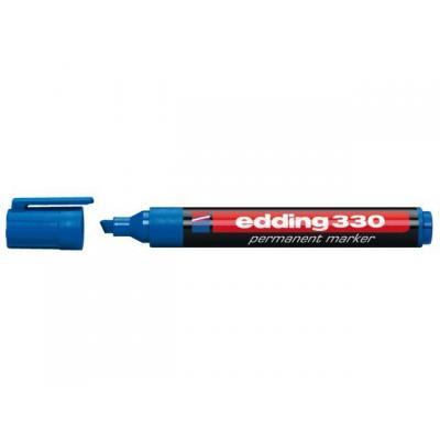 Edding markeerstift: e-330 - Zwart, Blauw