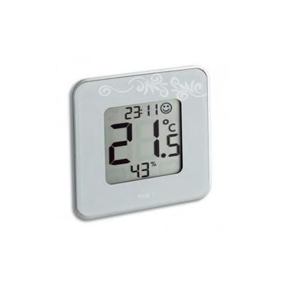 "Tfa weerstation: ""style"" digital thermo-hygrometer - Wit"