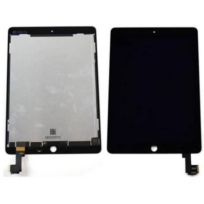 Microspareparts mobile : LCD Screen/Digitizer, Apple iPad Air 2 - Zwart