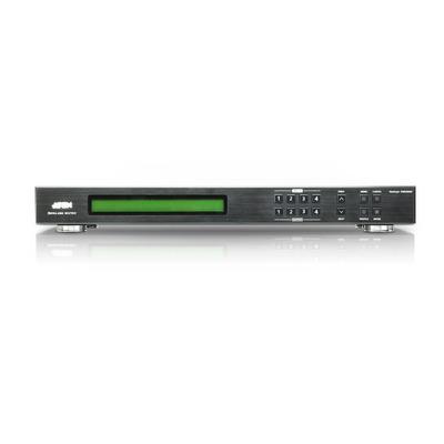 Aten 4 x 4 DVI Matrix Switch, 100 Ώ, 225 MHz, 1920 x 1200, 5m, 3.50 kg Video switch - Zwart