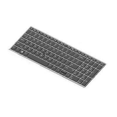 Hp Keyboard, backlit notebook reserve-onderdeel - Zwart