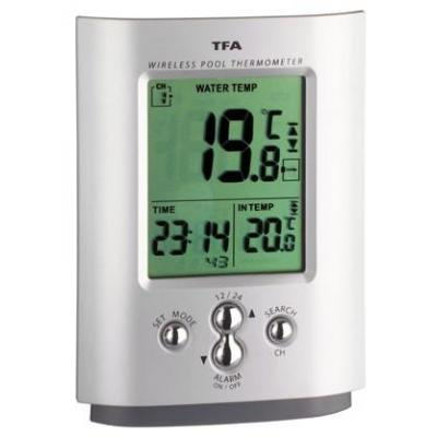 "Tfa thermometer: 30.3033 - ""Miami"" wireless pool thermometer, water temperature: -20 - 50°C (-4 - 122°F), indoor: 0 - ....."