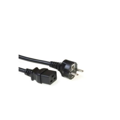 Microconnect Power Cord CEE 7/7 - C19, 2.5m Electriciteitssnoer
