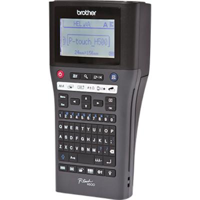 Brother Draagbaar model met TZe-tapes van 3.5 tot 24 mm en PC-aansluiting - 180 dpi - QWERTY Labelprinter - Zwart