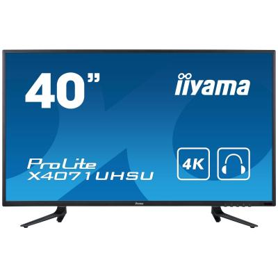 "Iiyama ProLite X4071UHSU-B1 39,5"" 4K UHD MVA - Desktop monitor - Zwart"