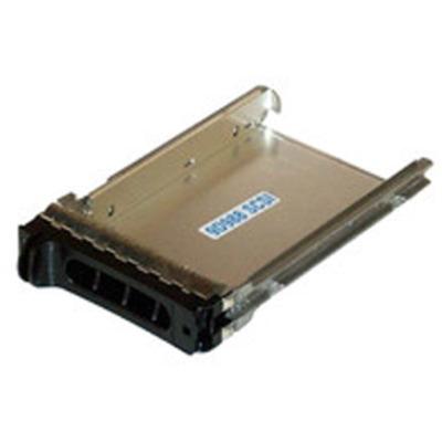 """CoreParts 3.5"""" Hotswap TrayDell SCSI/SAS Computerkast onderdeel - Zwart, Roestvrijstaal"""