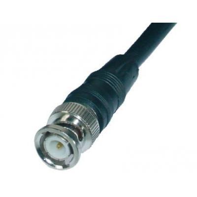 Abus coax kabel: BNC 2m - Zwart