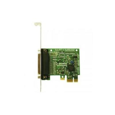 Brainboxes Parallel Port Printer PCI Express Serial Card Interfaceadapter