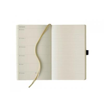 Lediberg : Agenda Weekly + notes medium zwart