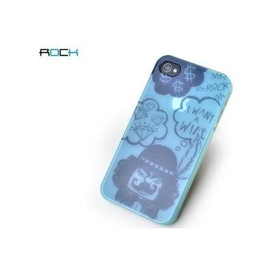 ROCK 4S-33669 Mobile phone case - Zwart, Blauw