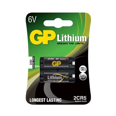GP Batteries 2CR5 - Zwart