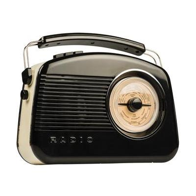 König radio: DAB+/FM, 6 x C (UM-2) - Zwart, Goud