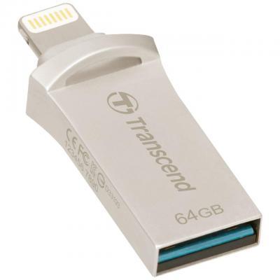 Transcend USB flash drive: JetFlash 64GB JetDrive Go 500 - Zilver