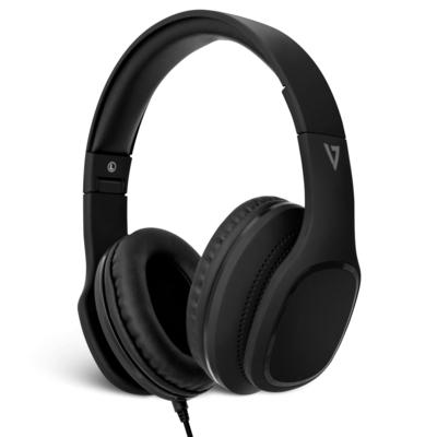 V7 HA701-3EP Headset - Zwart