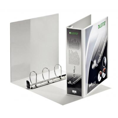 Leitz Premium SoftClick panorama Ringband - Wit