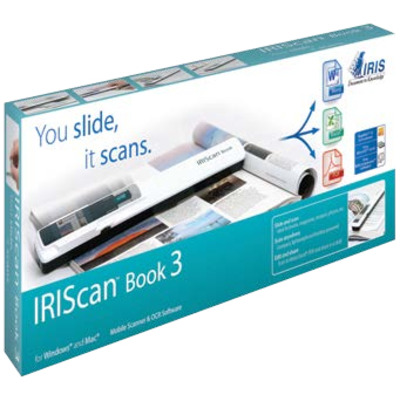 I.r.i.s. scanner: IRIScan Book 3 - Wit