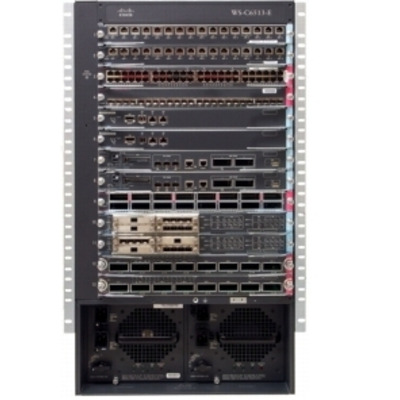 Cisco netwerkchassis: Catalyst 6513 Enhanced Chassis, 13 slots, spare