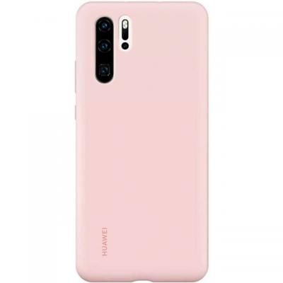 Huawei HUAWEI SILICONE COVER - ROZE - VOOR HUAWEI P30 PRO