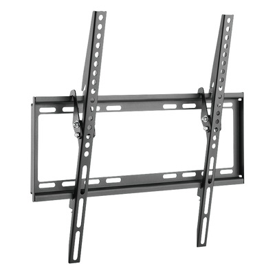 """LogiLink TV wall mount, tilt -8°/0°, 32–55"""", max. 35 kg Montagehaak - Zwart,Roestvrijstaal"""