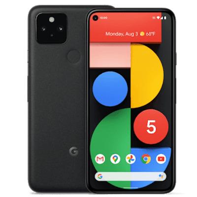 """Google Pixel 5 6"""" 128GB 5G Zwart Smartphone"""