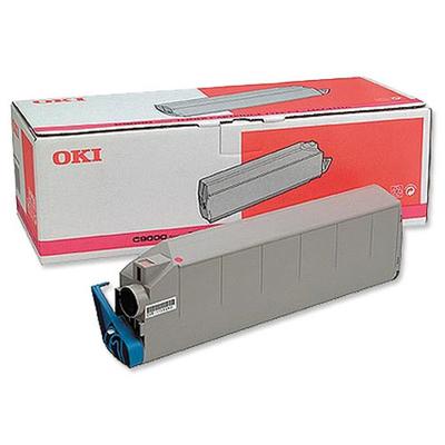 OKI toner: Magenta Toner Cartridge voor C9300 C9500