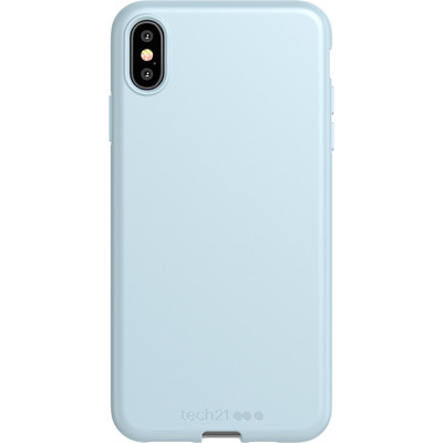 Antimicrobial Backcover iPhone Xs Max - Let Off Steam - Grijs / Grey Mobile phone case