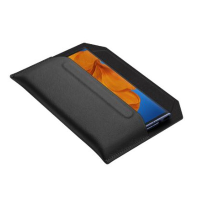 Huawei Mate Xs Envelope Leather Cover Black Tablet case