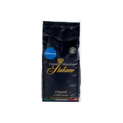 Grand maestro italiano koffie: Cafeïnevrij koffie bonen 8x1000 gram