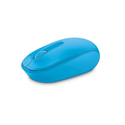Microsoft computermuis: Mobile Mouse 1850 - Blauw