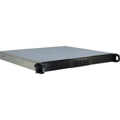 Inter-Tech 1U-10240 Behuizing - Zwart