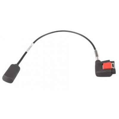 Zebra Vibrating cable for wearable terminal Signaal kabel - Zwart