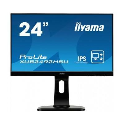 "Iiyama monitor: ProLite XUB2492HSU-B1 23,8"" Full HD IPS - Business - Zwart"