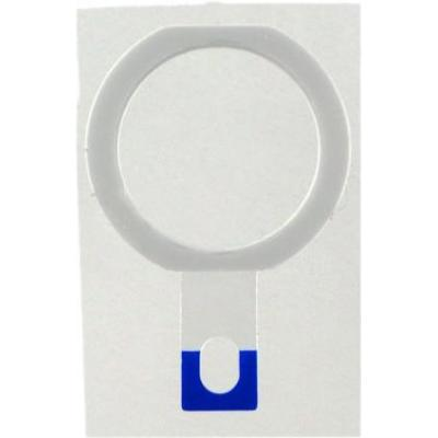 Microspareparts mobile : Apple iPad Air Home Button - Wit