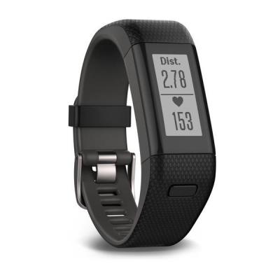 Garmin wearable: vívosmart HR+ - Zwart