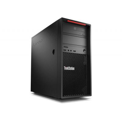 Lenovo ThinkStation P520c + 2 x ThinkVision P24q pc - Zwart