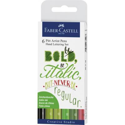 Faber-Castell 8800503 Kalligrafeerpen - Multi kleuren