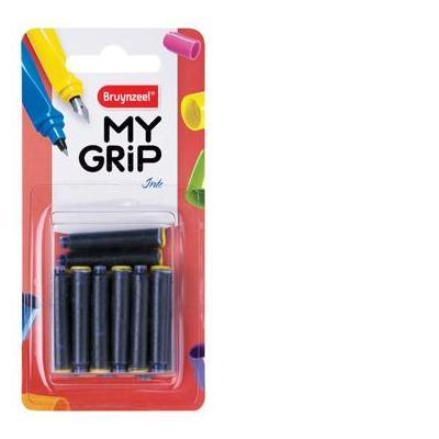 Bruynzeel sakura inktvulling: MY GRIP INKTPATR BLAUW BLS 14X
