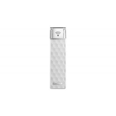Sandisk USB flash drive: WiFi+USB 2.0, 200 GB, 21.76g - Wit
