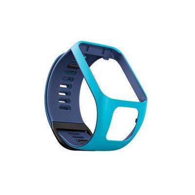 Tomtom : Runner 3/Spark 3 Watch Strap (Light Blue/Dark Blue - Small) - Blauw