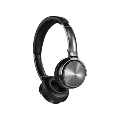 Lasmex 150 g, 40 mm, 45 ohm, 20 - 20000 Hz, 10 mW, 3 % THD, 1.2 m, 3.5 mm + 2.5 mm Headset - Zwart,Zilver