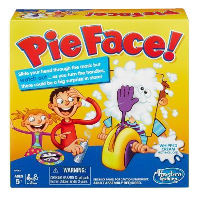 Hasbro bordspel: Pie Face Game