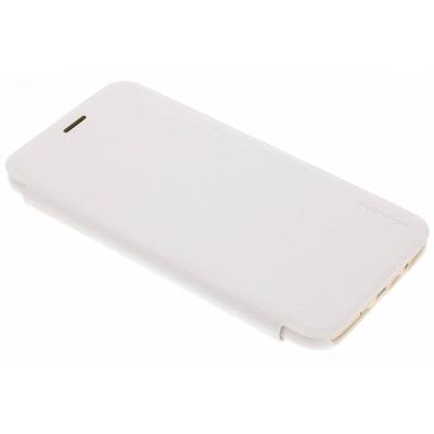 Sparkle Slim Booktype Samsung Galaxy J7 (2017) - Wit / White Mobile phone case