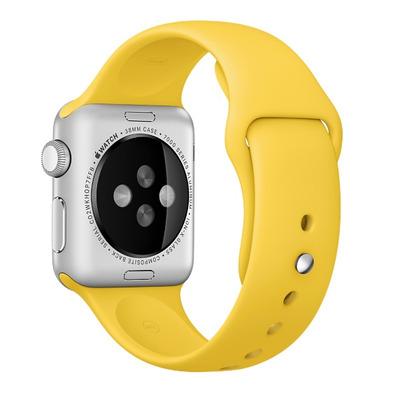 Apple : Sportbandje, Geel, 38 mm