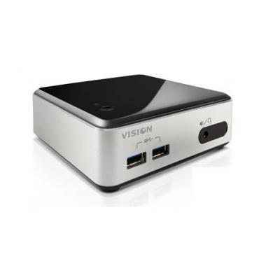 Vision mediaspeler: i3 4K VMP - Zwart, Zilver