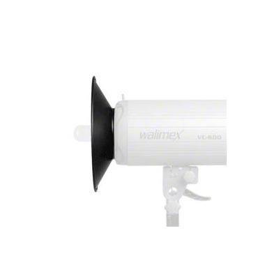 Walimex softbox: Wide Angle Reflector 120° VC&VE Series - Zwart, Zilver